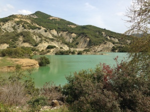 There is some crazy beautiful countryside  here in Albania.